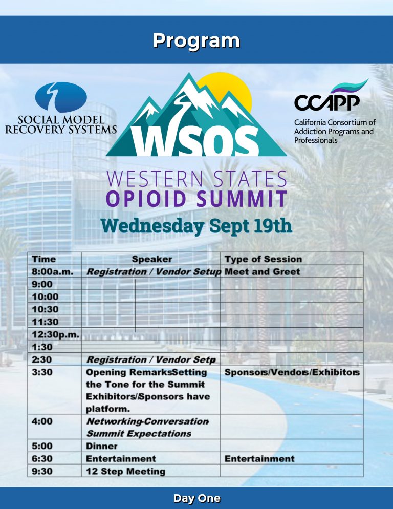 WSOS Day One Program